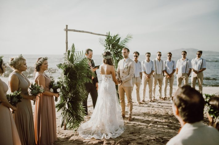 Shoreside Chic Wedding