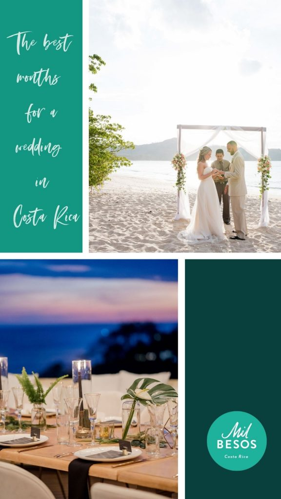 The Best Months for a wedding in CR