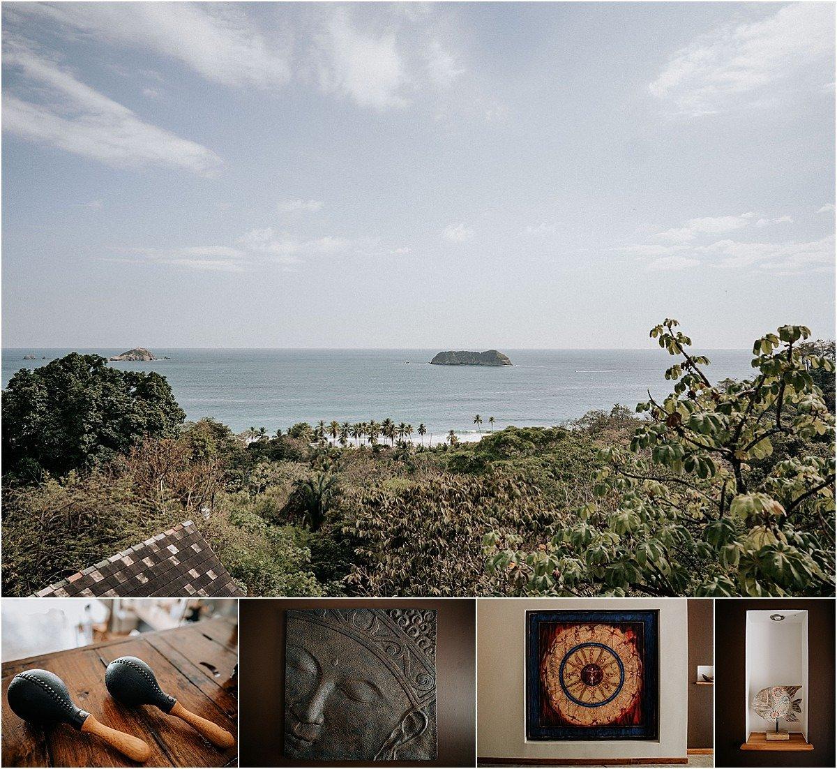 villa decor and view