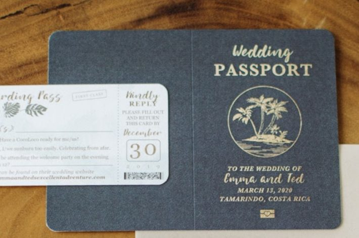 wedding passport Costa Rica Opens its Borders