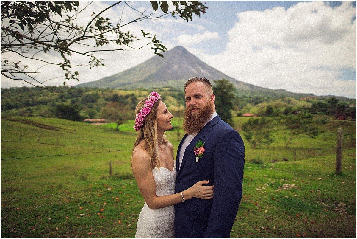 Arenal Volcano Elopement Photographer