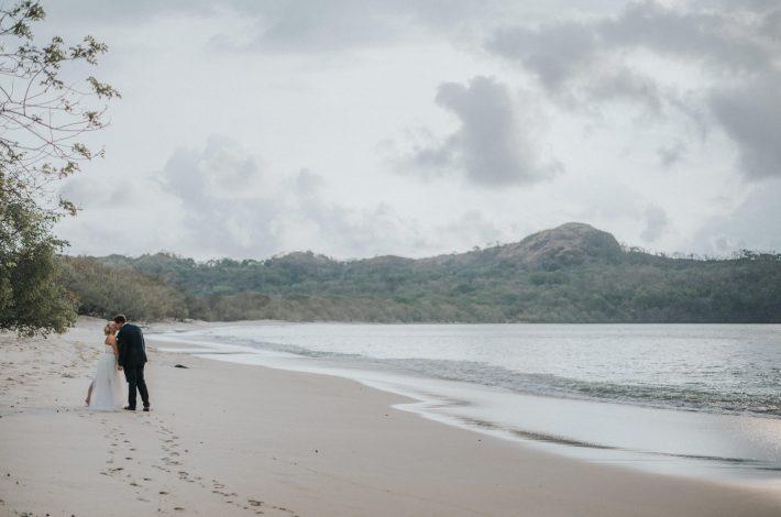 Beach Elopement in Costa Rica