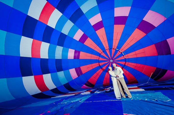 Hot Air Balloon Elopement in Costa Rica