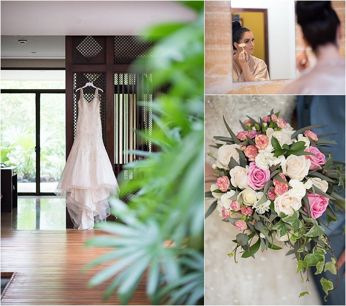 Wedding details in the conchal hotel