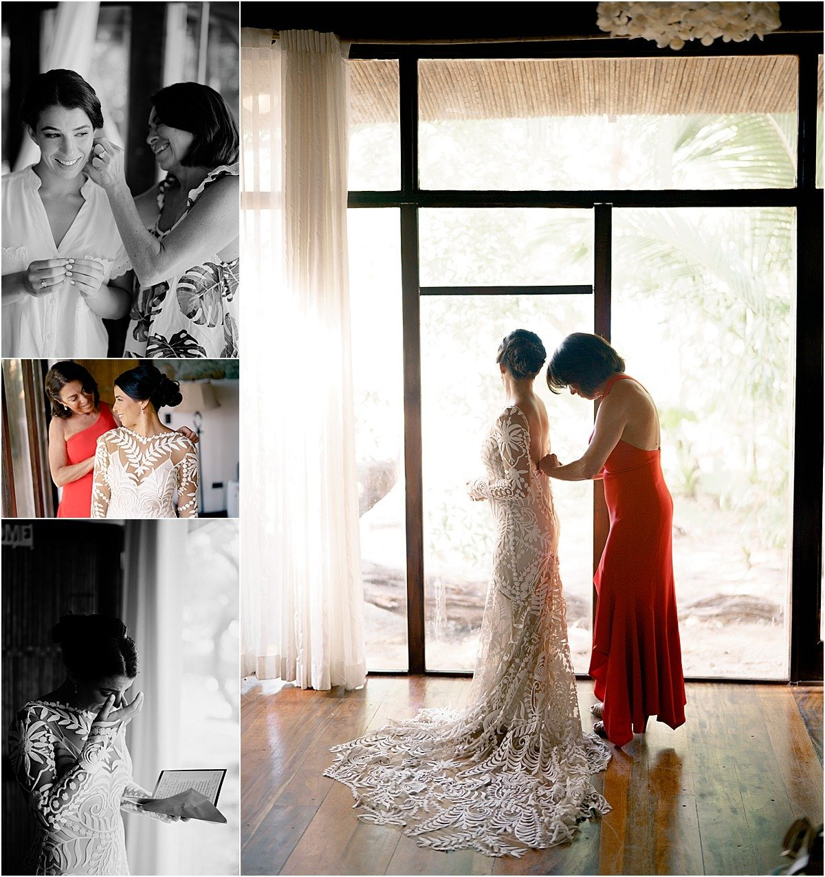 bridal mornings at the hotel in tamarindo costa rica