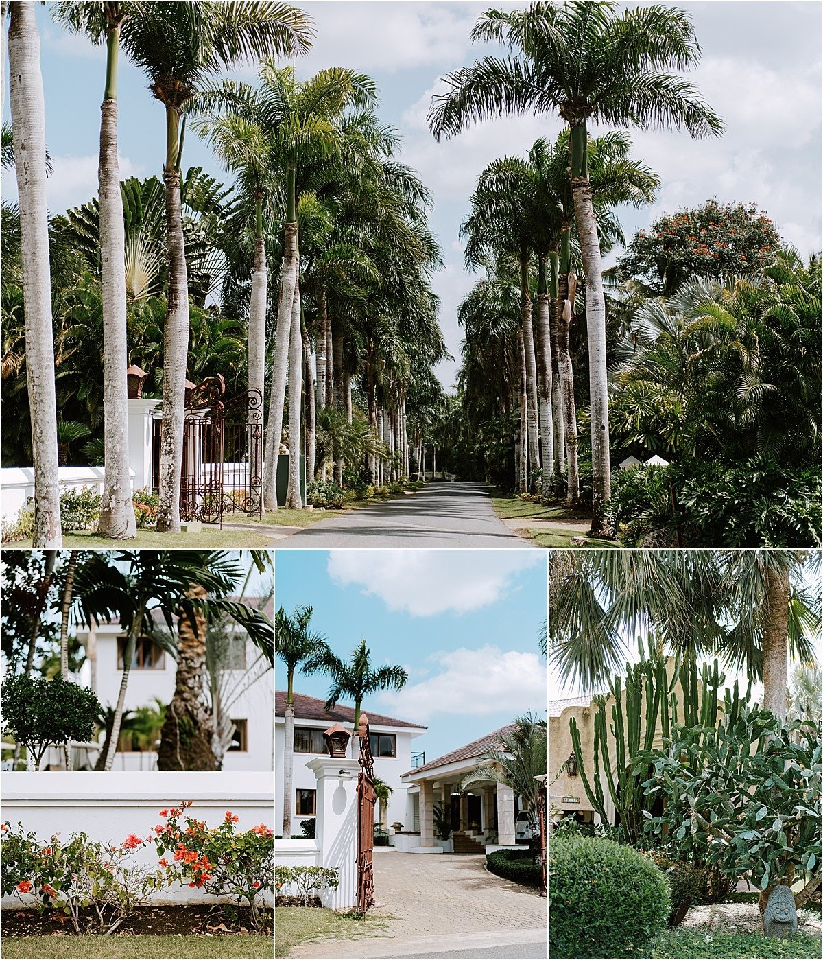 entrance to campos dominican republic