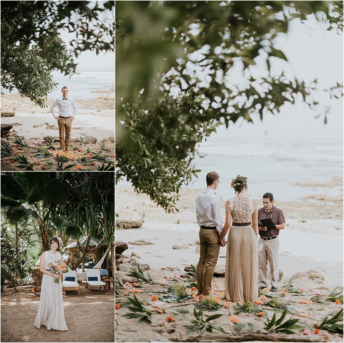 here comes the bride elopement