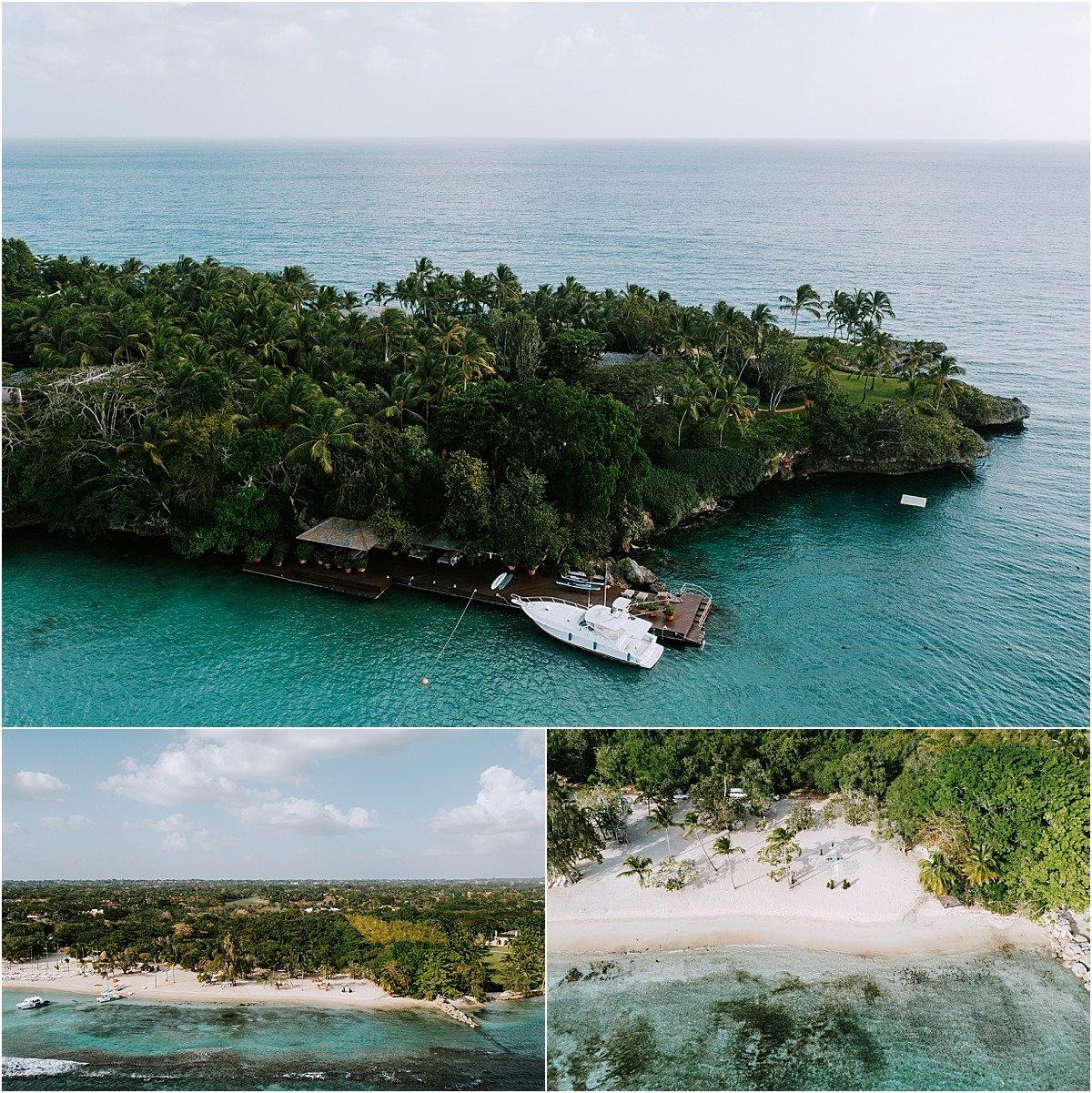 marina view dominican republic blue water