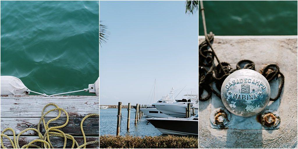 marina water boat club Custom Wedding Mood Boards