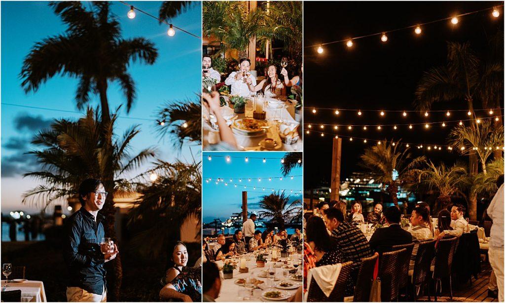 nightscape venue in the caribbean