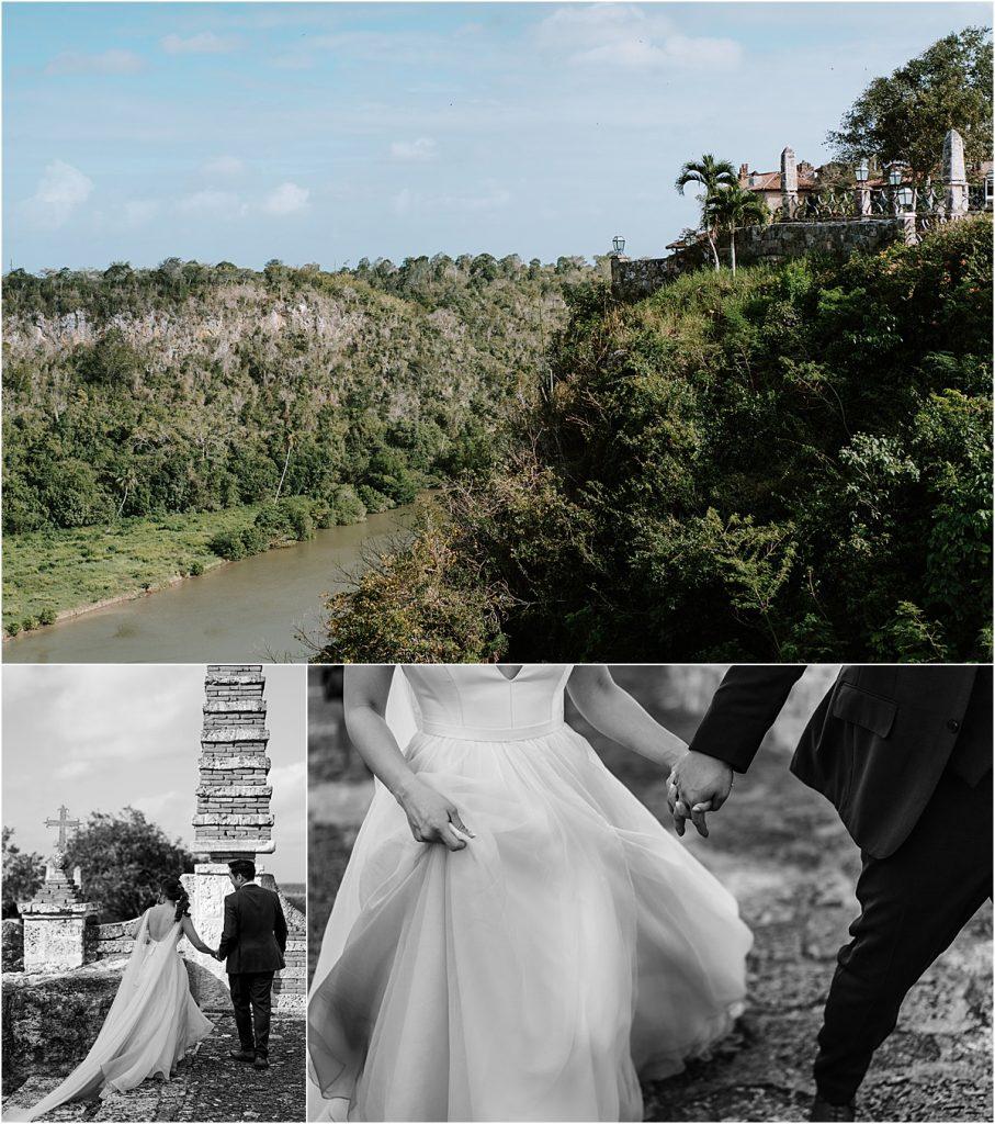 feet tall cliffs above the Chavón River wander the streets of the village of Altos de Chavón