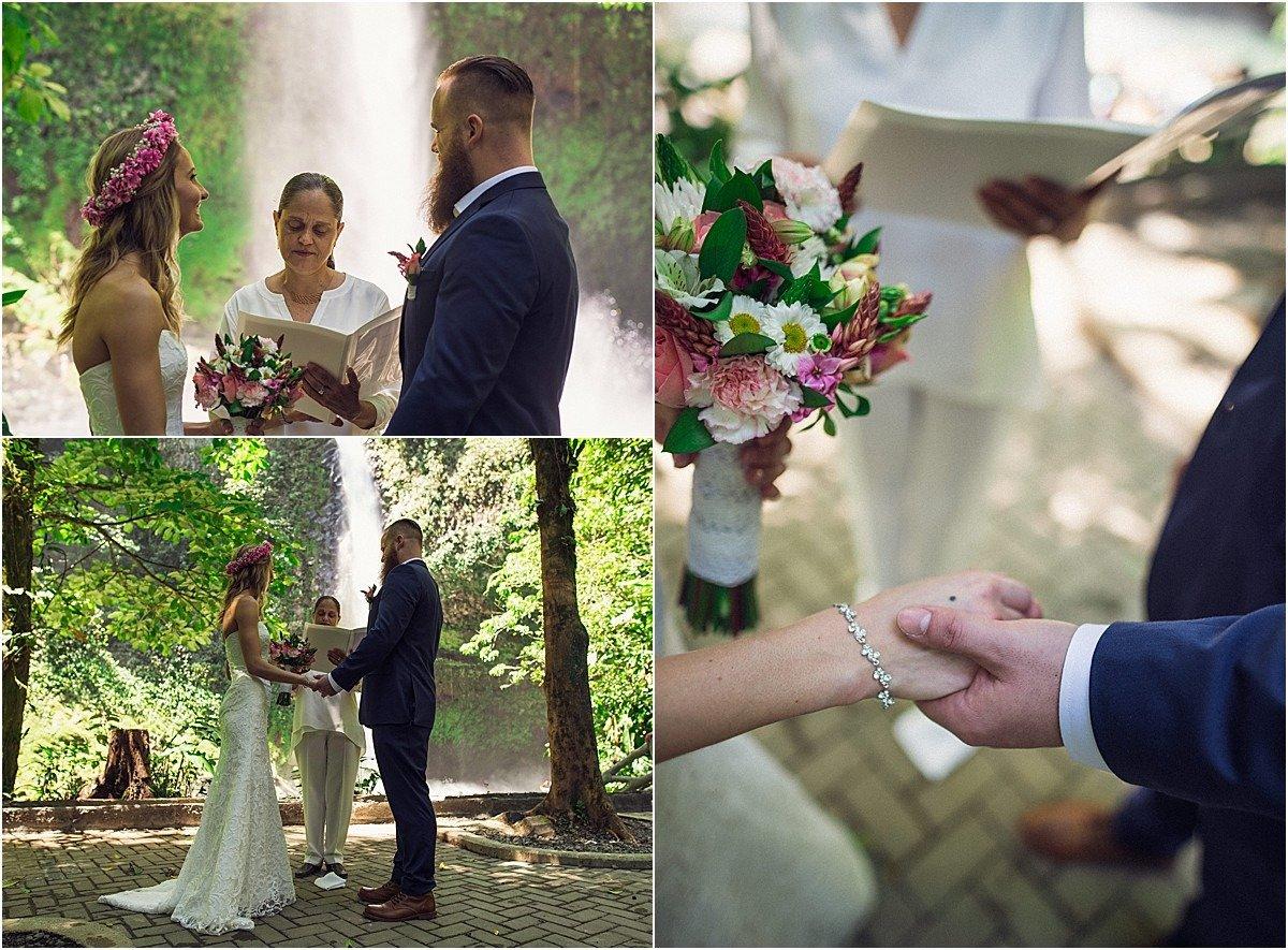 vows at this destination elopement