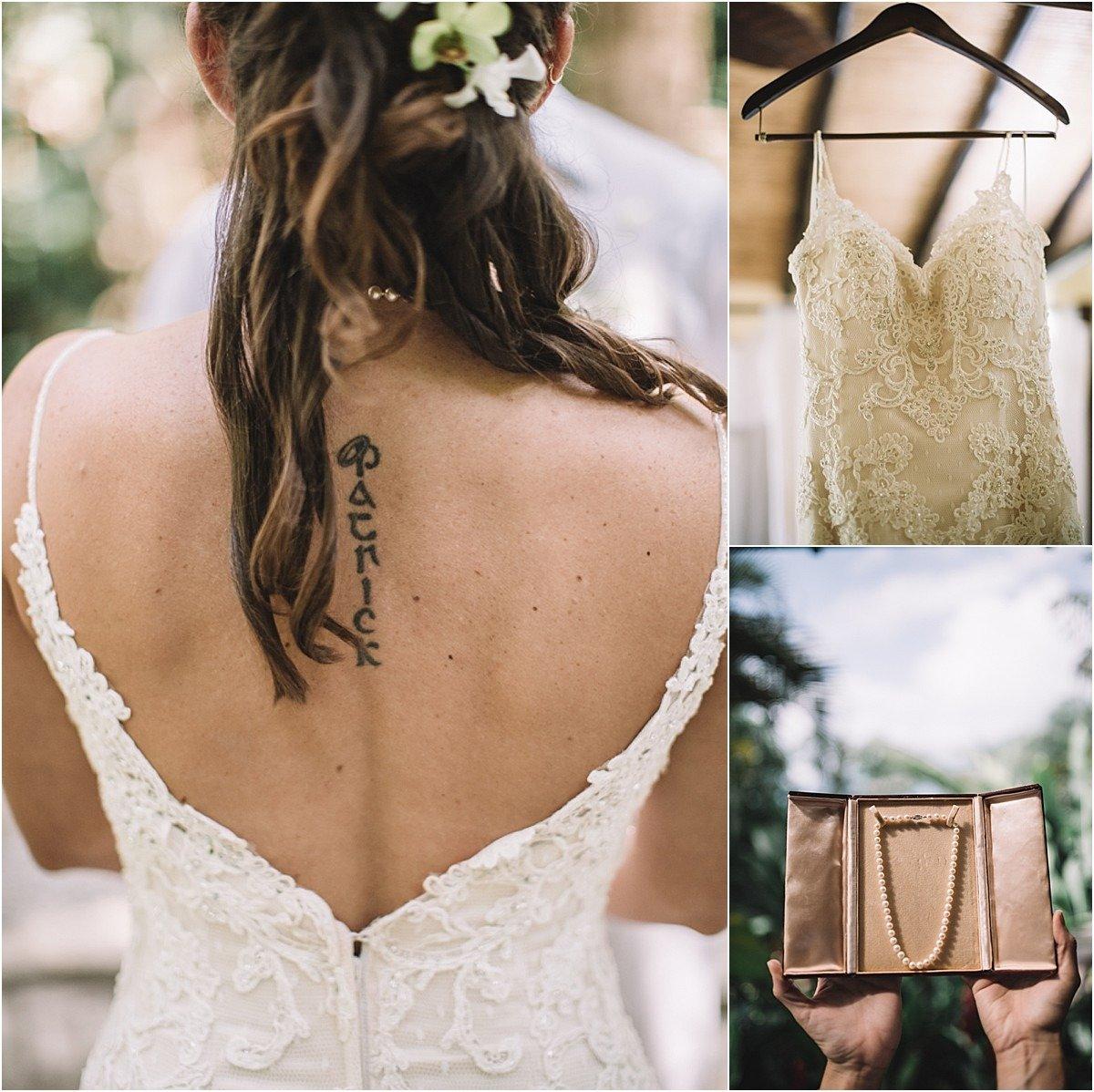 wedding gown la fortuna