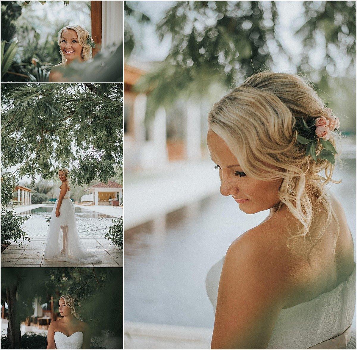 westin conchal beach bride