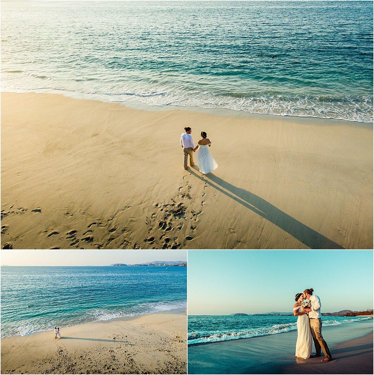 Conchal beach elopement in 2016