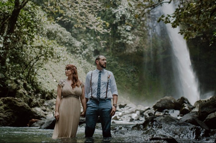 Intimate Waterfall Elopement