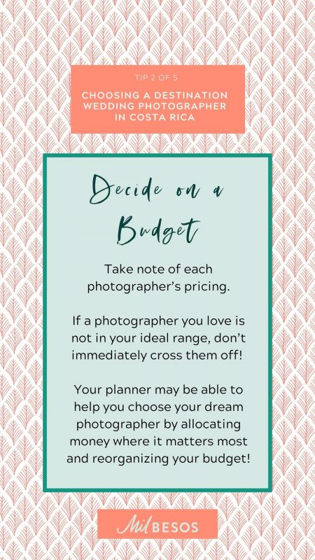 Tips for choosing a wedding phototgrapher in Costa Rica .jpg • Wedding Budget