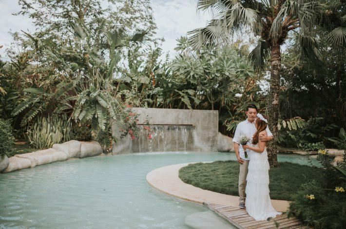 Villa-Don-Vito-Langosta-Beach-Club-Tamarindo White Attire Beach Wedding