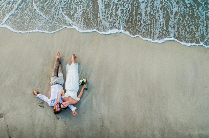 White Sand Beach Elopement