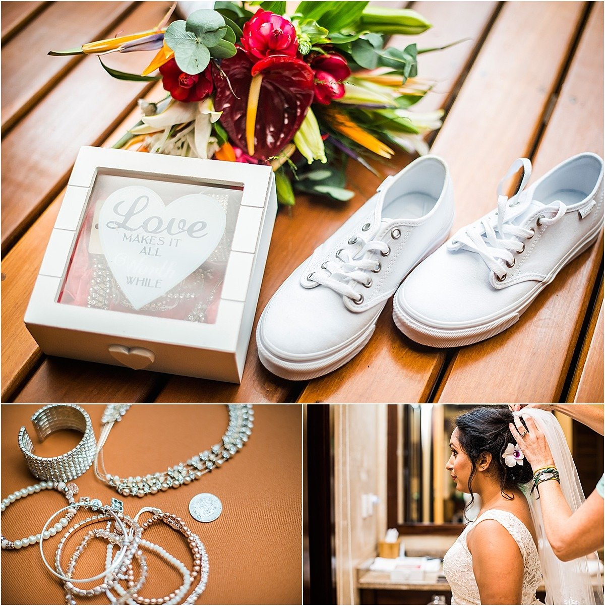 bridal vans and accessories