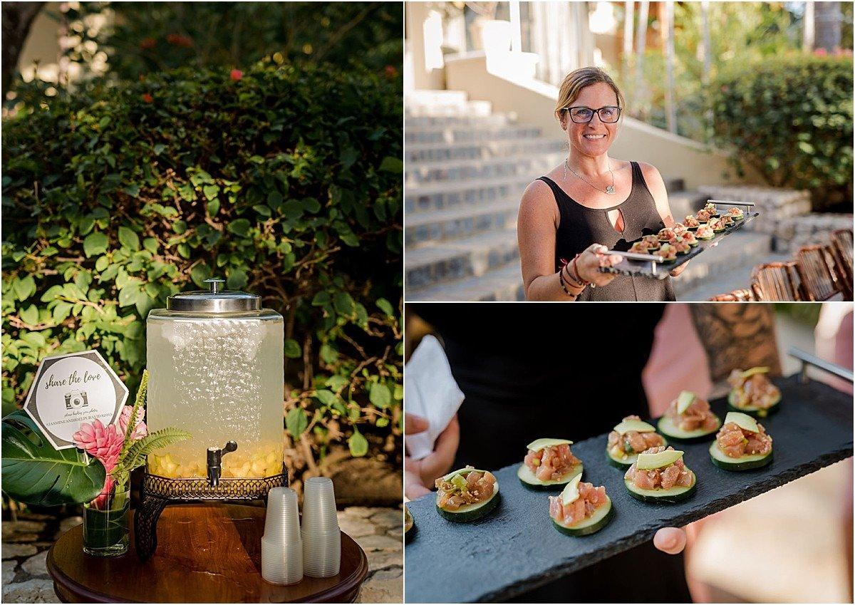 catering costa rica sol serving