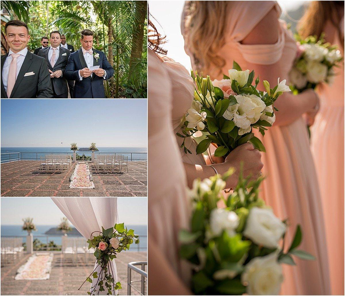 ceremony romance blush pink