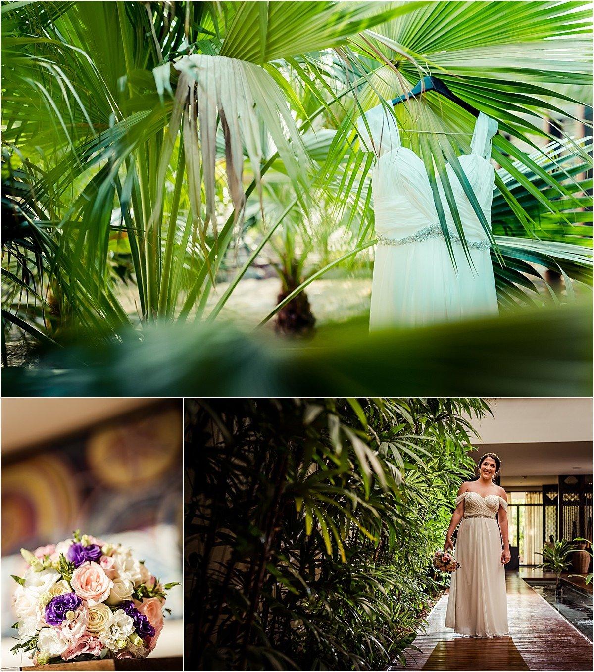 conchal elopement details in the garden