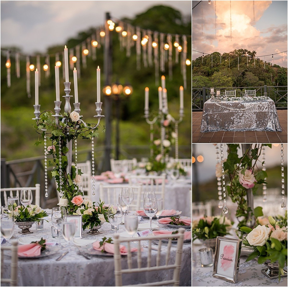 magical reception in La Mansion captured by Sylvia Guardia
