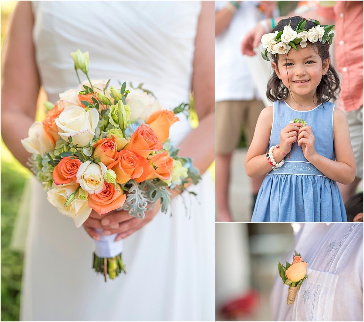 orange roses bouquet