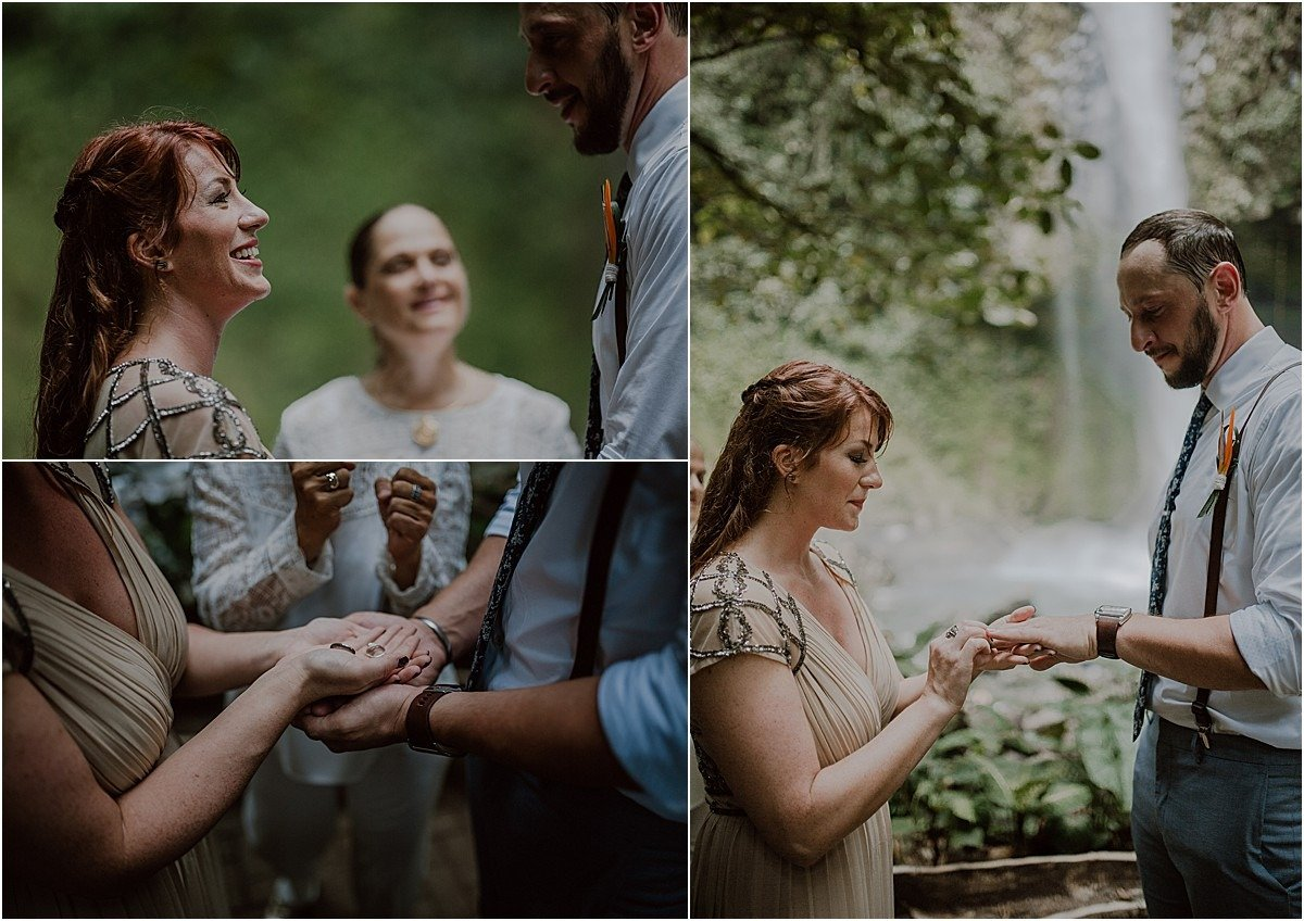 ring blessing elopement ceremony ideas