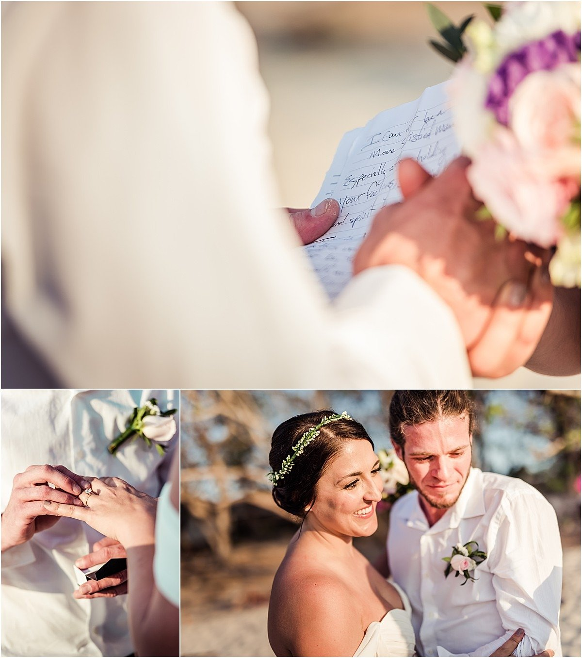 vows ceremony elope on Playa conchal