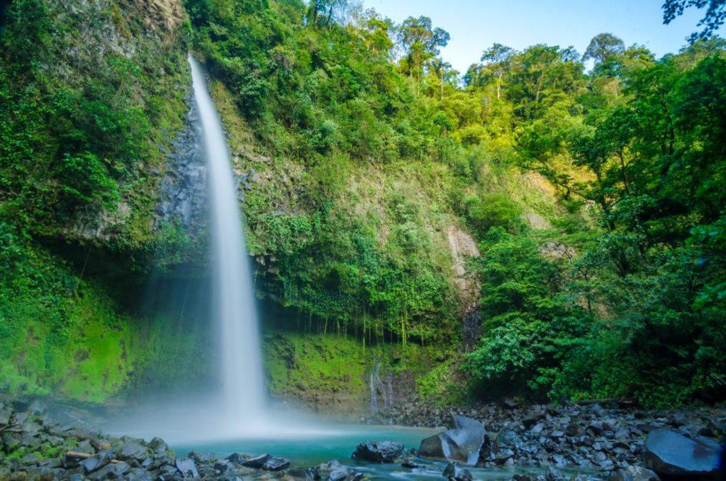 Top 5 Waterfalls in Costa Rica la fortuna waterfall costa rica