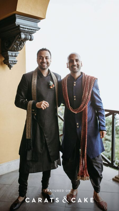 multicultural wedding featured on Carats and Cake