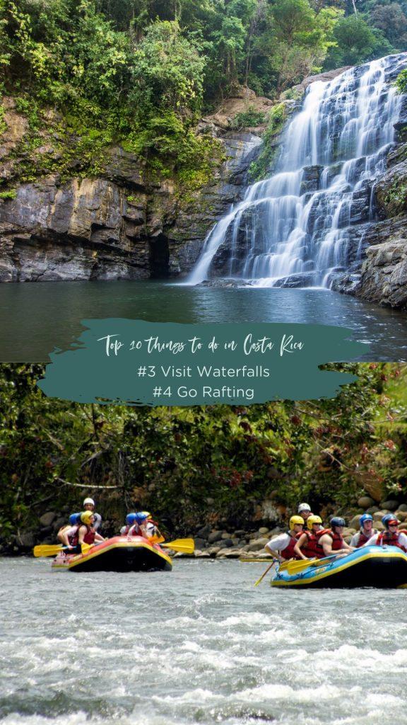 Waterfalls and Whitewater Rafting