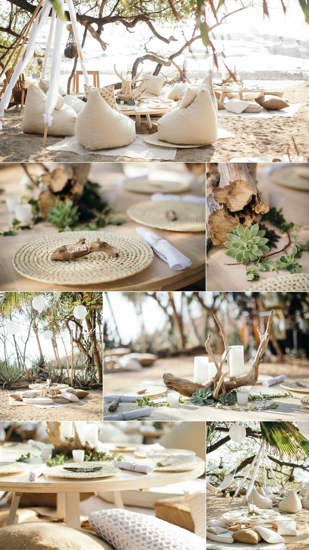 boho chic wedding planning design