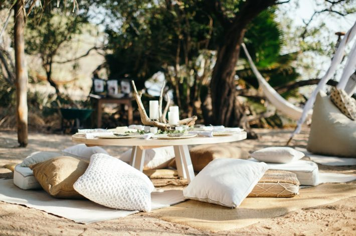 rustic boho beach wedding in costa rica
