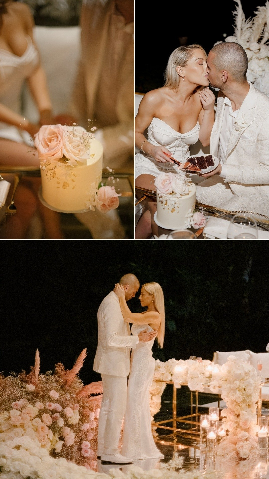 wedding cake elopement costa rica