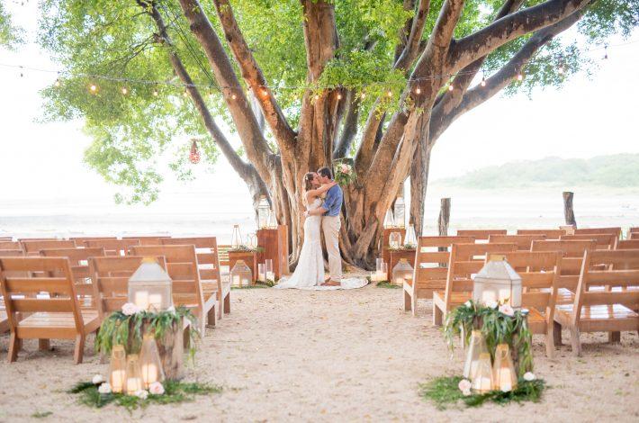 Classic Tropical Wedding in Tamarindo