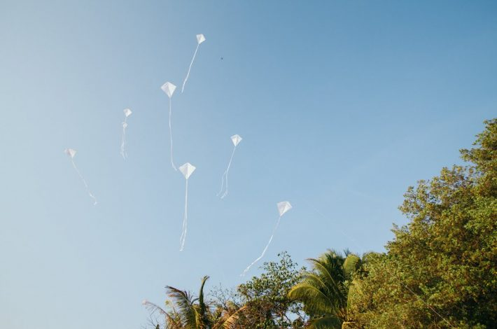 Incorporating Kites on Your Wedding Day