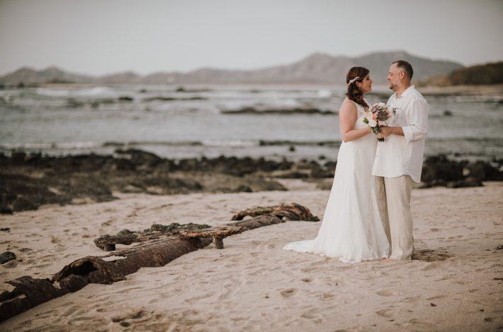 Romantic Beach Club Wedding