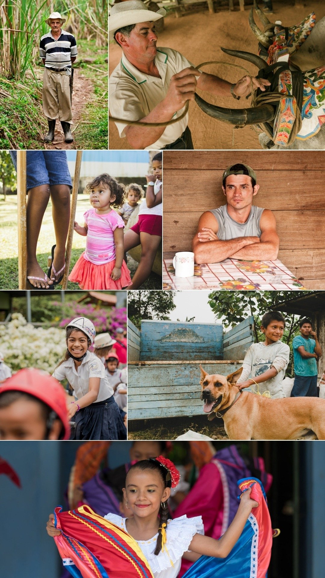 local costa ricans and their cultures
