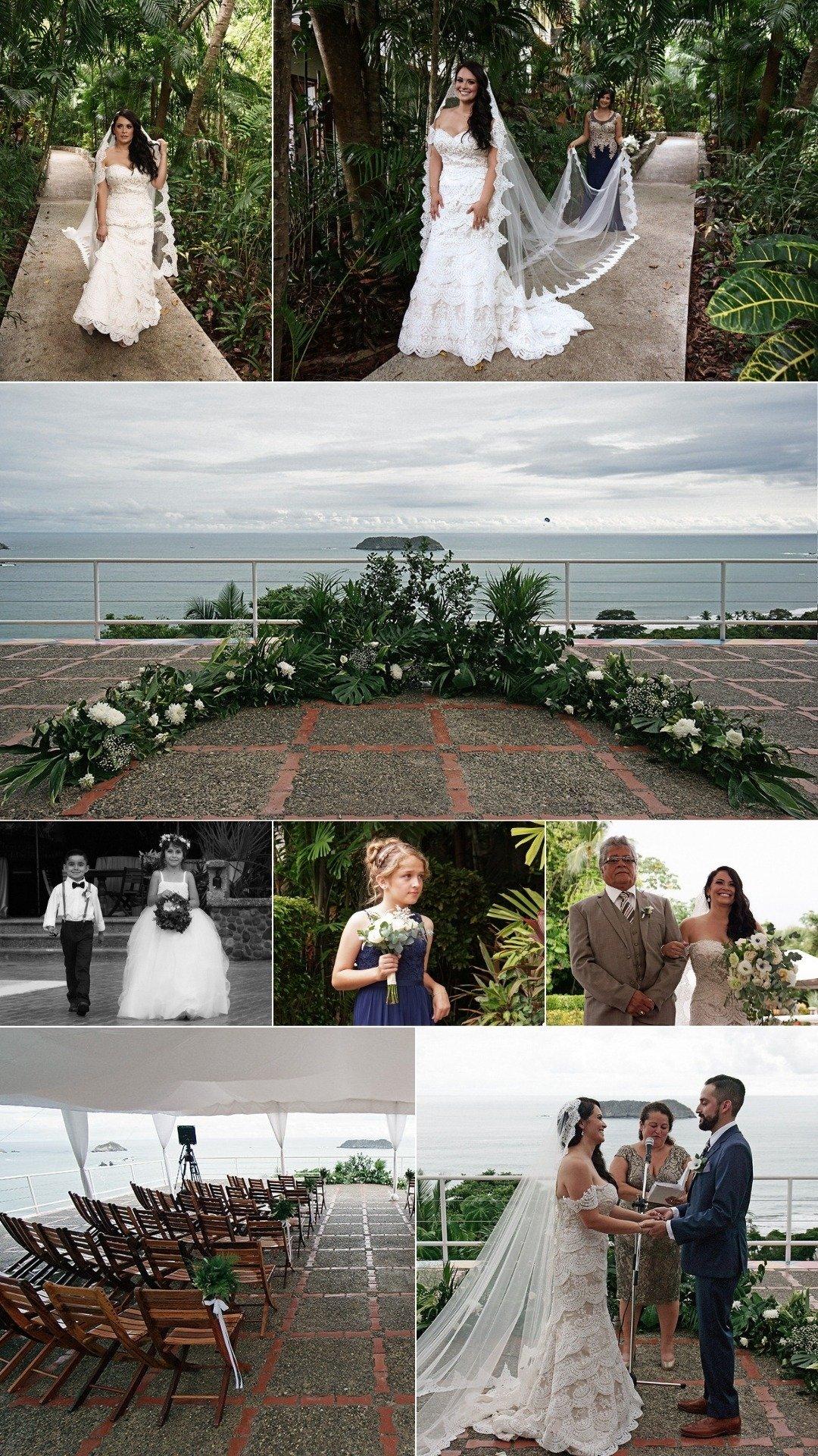 Rooftop Vista Wedding Ceremony Venue in Costa Rica