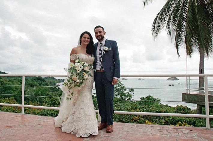 Rooftop Vista Wedding in costa Rica