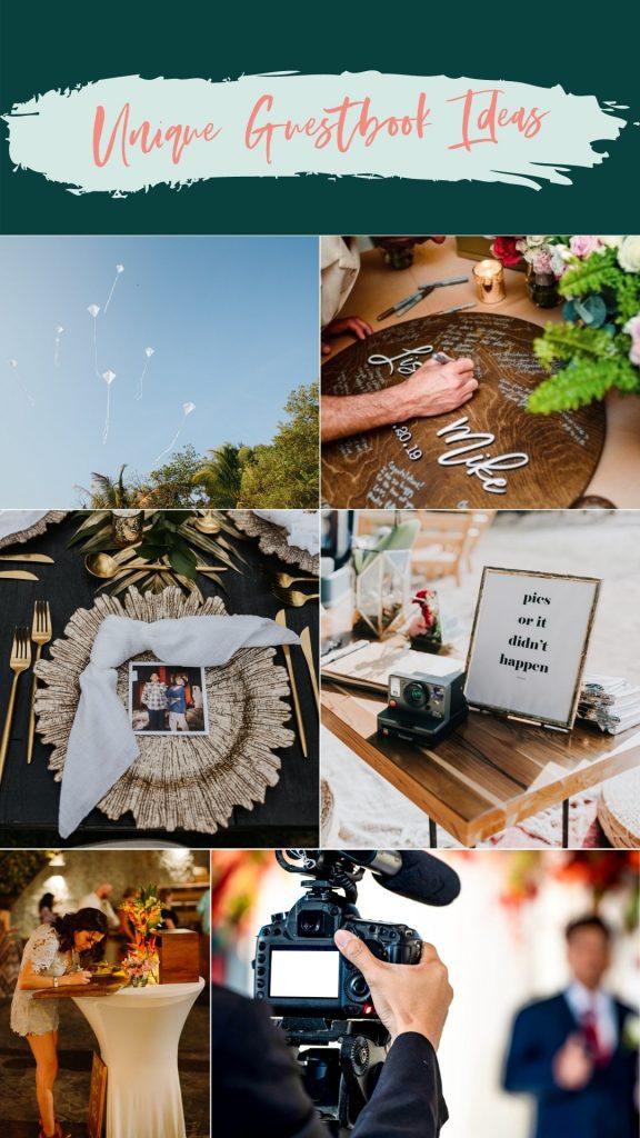 unique guestbook ideas wedding