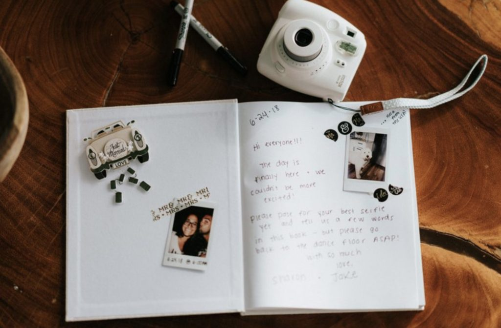 Unique Guest book ideas for your wedding