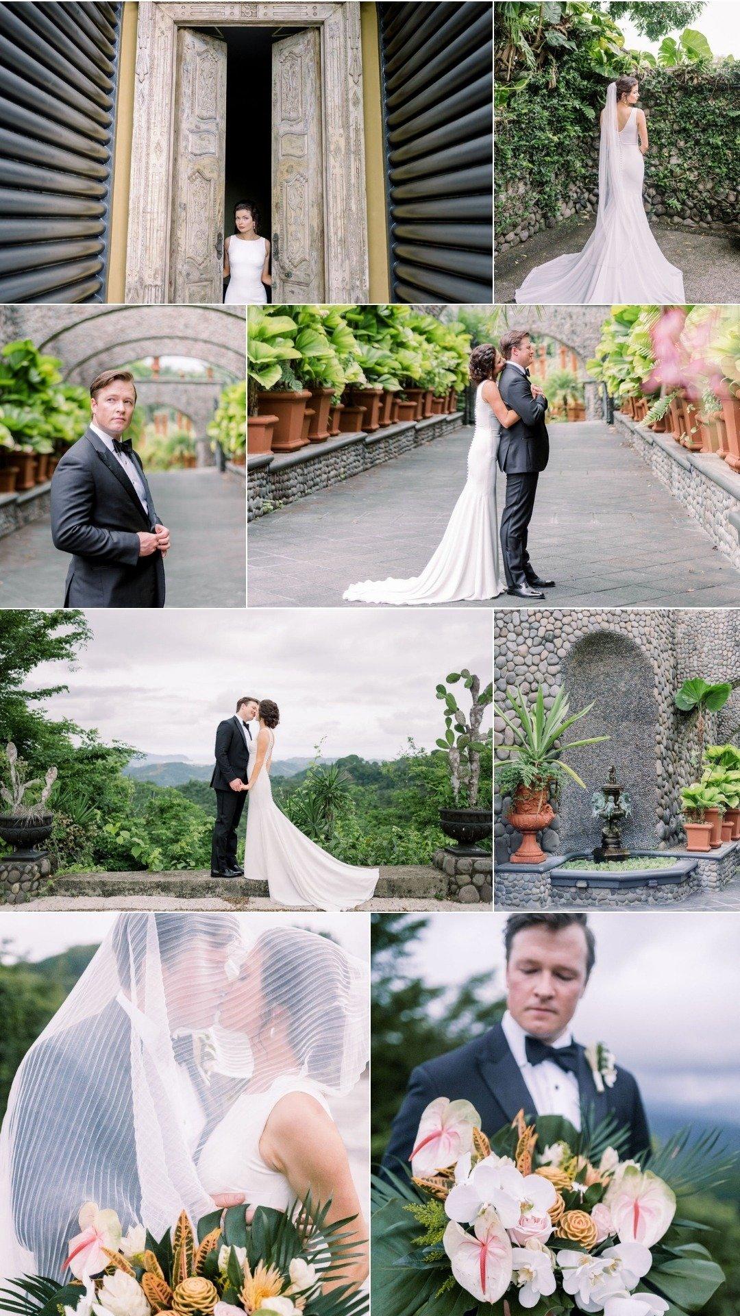 Elegant Tropical Wedding in a private villa