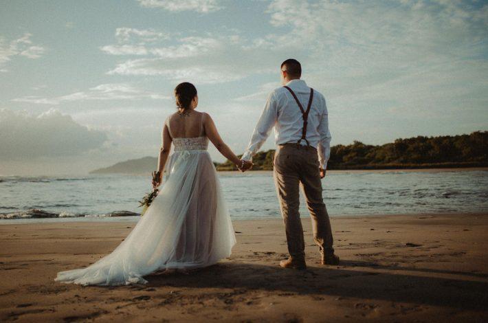 Intimate Family Wedding in tamarindo