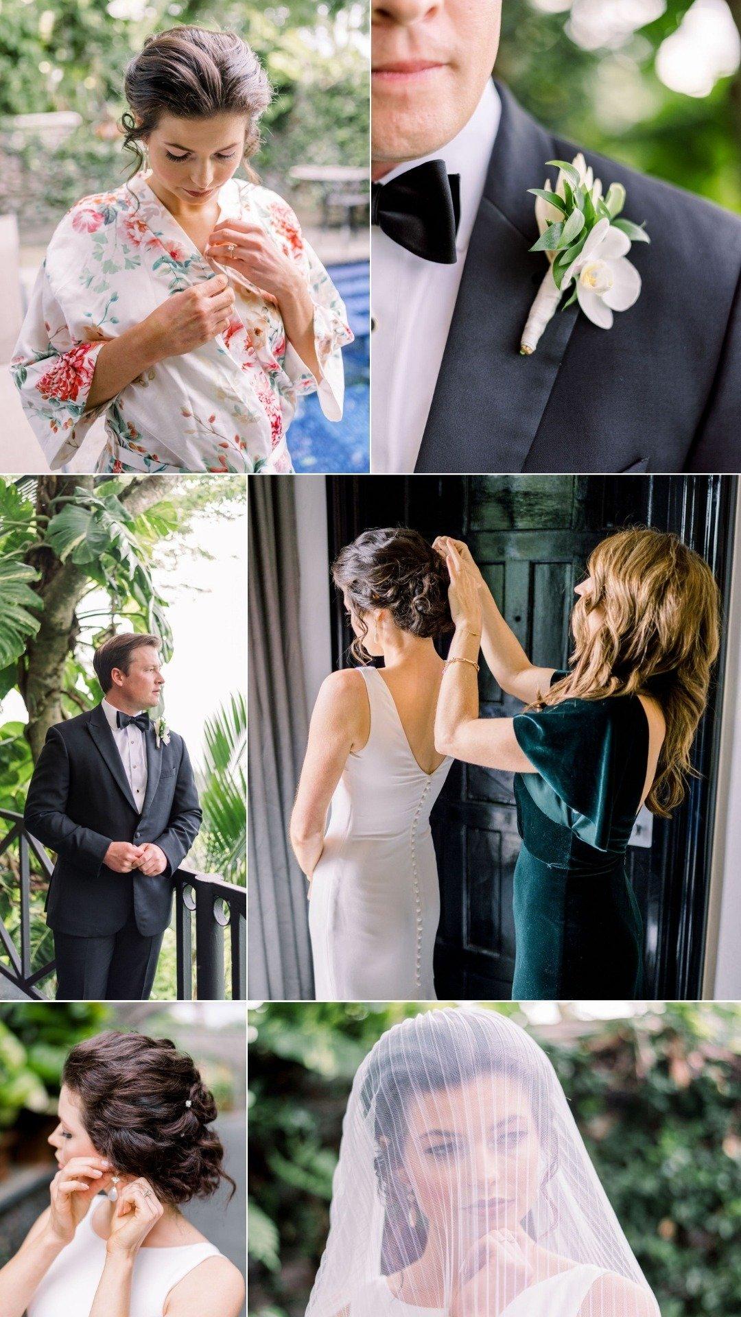 destination wedding couple in jaco