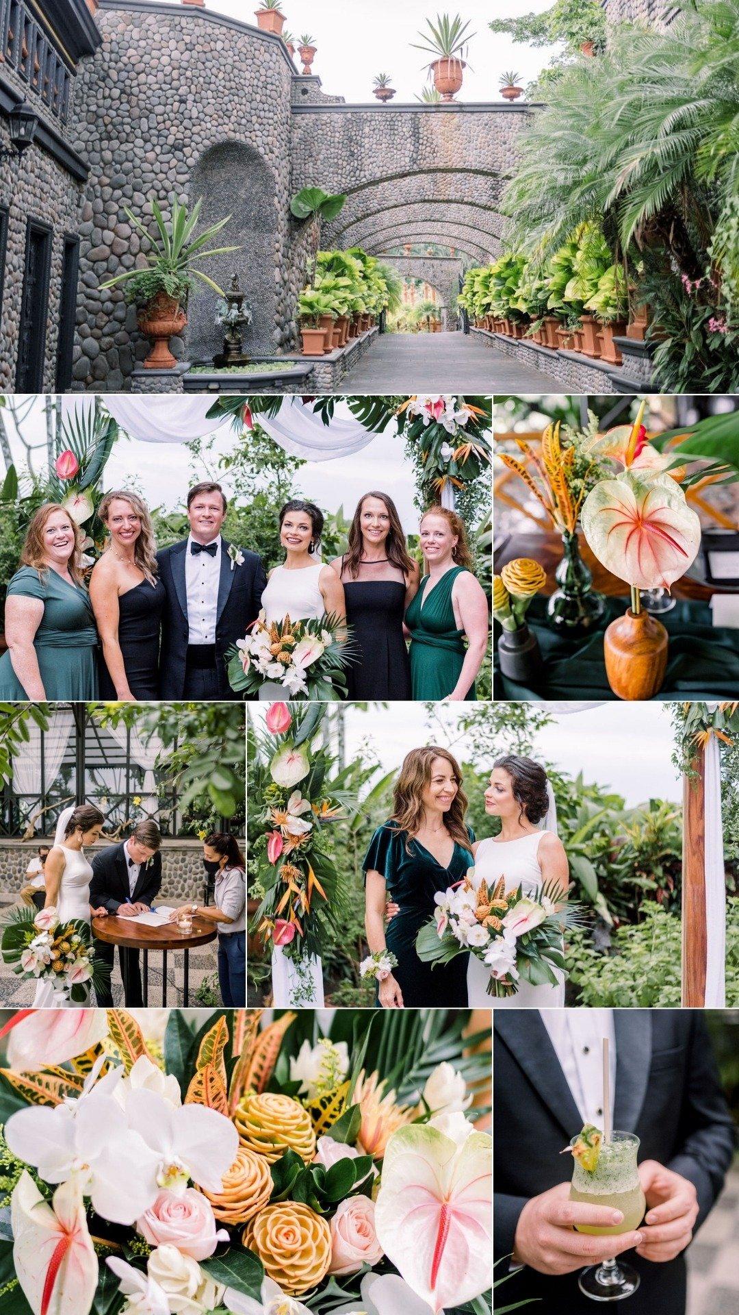 villa caletas wedding ceremony CR
