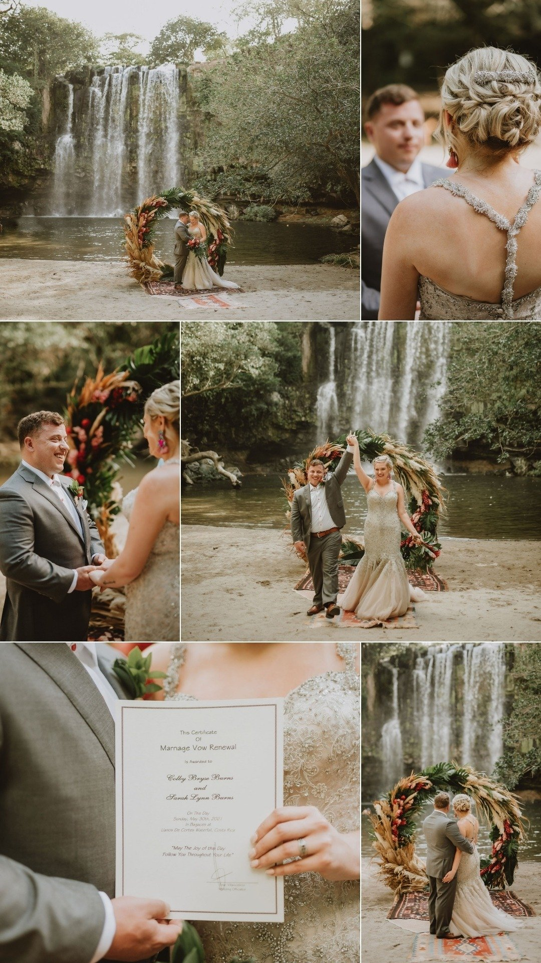 vow renewal planner in Costa Rica